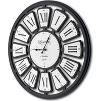 The Mia Duvar Saati - Lescelles Siyah Beyaz
