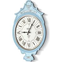 The Mia Duvar Saati Wellesley - Mavi 70*50 Cm