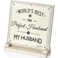 The Mia Plaket Mermer - Husband