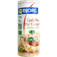 Bjorg Organik Glutensiz Pirinç Patlağı Dilimleri Bisküvi 130 Gr.