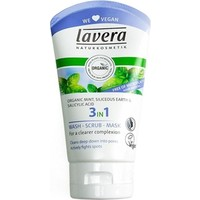 Lavera Organik Cilt için 3 in 1 - Temizleme Peeling Maske 125 Ml.
