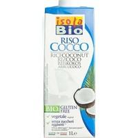 İsola Bio Organik Hindistan Cevizli Pirinç Sütü (Glutensiz ve Şeker İlavesiz) 1 Lt.