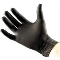 Tanaçan Eldiven Nitril Siyah Pudrasız Beybi 100 Adet Large