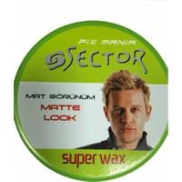 Sector Wax 150 Ml Fıx Mania - Matte Look