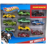Hot Wheels Onlu Araba Seti