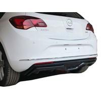 Opel Astra J HB 2013-2015 Makyajlı Custom Difüzör (Plastik)