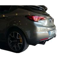 Opel Astra K 2016 Sonrası Rieger Difüzör (Plastik)