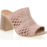 Nemesis Shoes Terlik Pudra Deri