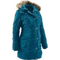 bonprix Mavi Hamile Giyim Kışlık Mont 34-54 Beden