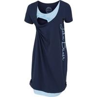 Bpc Bonprix Collection Kadın Mavi Hamile Giyim Emzirme Detaylı Jarse Elbise