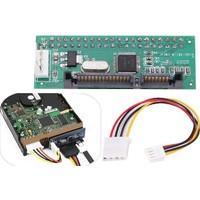 Alfais 4854 3.5 İde Sata 22 -40 Pin Çevirici Dönüştürücü Adaptör Hard Disk Hdd Dvd