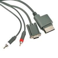 Alfais 4855 Xbox 360 Vga 2Rca Monitör Tv Kablosu