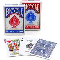 Bicycle Standart Poker İskambil Oyun Kağıdı (2 Tarafı Yazılı Oyun Kartı 2 Paket)