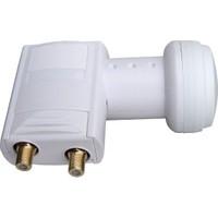 CresCent Bireysel Antenler İçin İki Çıkışlı Universal Hd Ve 4K Uyumlu Lnb Twin