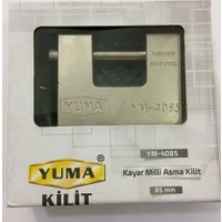 Yuma 4085 Kayar Milli Asma Kilit 85 Mm