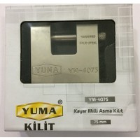Yuma Ym 4075 Kayar Milli Asma Kilit