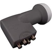 Electro Master Bireysel Antenler İçin 4 Çıkışlı Ultra Hd 4K Uyumlu Quad Lnb