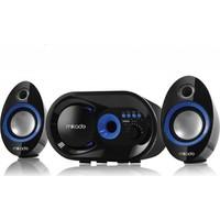 Mikado Md-209Bt 2+1 Siyah Usb+Tf+Fm Destekli Multimedia Bluetooth Speaker