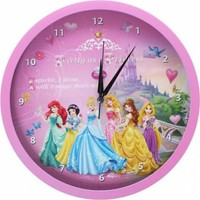 Disney Lisanslı Prensesler Duvar Saati