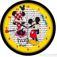 Disney Lisanslı Mickey Mouse Duvar Saati