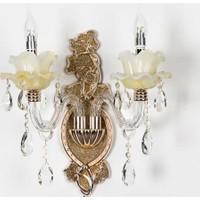 Vitale Wall Lamp Çiftli Beyaz Kuğu Cam Avangard Aplik