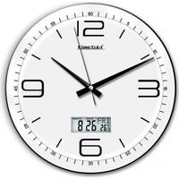 Time Beyaz Dijital Dekoratif Duvar Saati