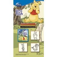 Multi Print Winnie The Pooh Damga / 3'lü set