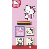 Multi Print Hello Kitty Damga / 3'lü Set