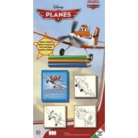 Multi Print Disney Uçaklar Damga / 3'lü Set