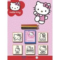 Multi Print Hello Kitty Damga / 5'li Set