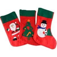 Wildlebend Noel Baba Hediye Çorabı Büyük Boy