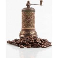 Wildlebend Osmanlı Motifli Kahve ve Baharat Değirmeni Sarı