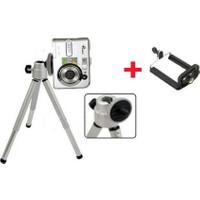 Wildlebend Mini Teleskopik Tripod + Telefon Başlığı Hediyeli