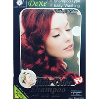 Dexe Splendid Red Orjinal Saç Boyama Şampuanı 25 ml X 10