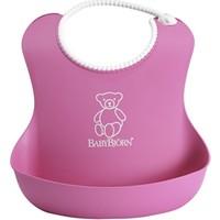 BabyBjörn Yumuşak Plastik Mama Önlüğü / Pink