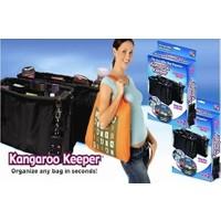 Wildlebend Kangaroo Keeper Çanta İçi Düzenleyici - Siyah
