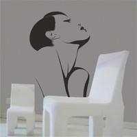 Hepsi Duvar Beauty Woman Duvar Sticker