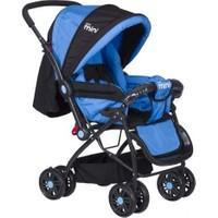 Beneto City Mini 5100 Bebek Arabası Mavi