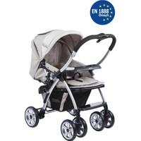 Kraft Evo Çift Yönlü Bebek Arabası Bej