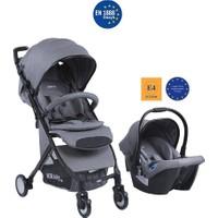 Kraft Mist Travel Sistem Bebek Arabası Gri