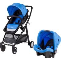 Prego Neon Travel Sistem Bebek Arabası Mavi