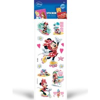 Minnie Mouse Puffy Sticker 6,5X17 Cm