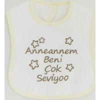 Sebi Bebe 53420 Ananem Beni Çok Seviyo Mama Önlüğü