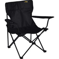 FUNKY CHAIRS Siyah Katlanabilir Kamp Sandalyesi