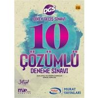 Murat Yayınları DGS Çözümlü 10 Deneme Sınavı