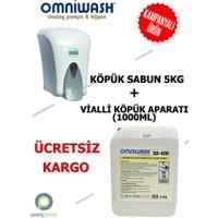Omniwash Köpük El Sabunu 5 Kg + Köpük Makinesi 1000 Ml