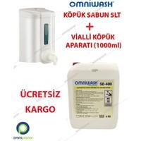 Omniwash Köpük El Sabunu 5 Lt + Köpük Makinesi 1000 Ml