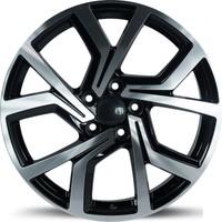 EMR 5573 19'' Volkswagen Golf Uyumlu 8.5 Offset 5x112 ET45 Black Polished Jant