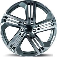 EMR 5586 19'' Volkswagen Golf Uyumlu 8.5 Offset 5x112 ET 45 Dark Grey Polished Jant