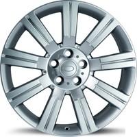 """EMR 9013 20"""" Range Rover Sport ve Vogue Uyumlu 9.5 Offset 5x120 ET 45 Hyper Silver Jant"""